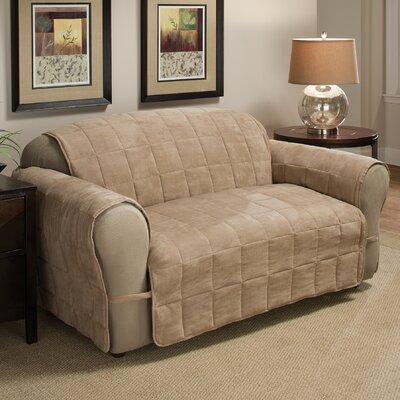 DuVig Sofa Slipcover Upholstery: Natural