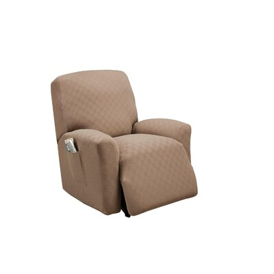 Recliner Slipcover Upholstery: Wheat