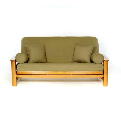 Futon Slipcover Upholstery: Olive