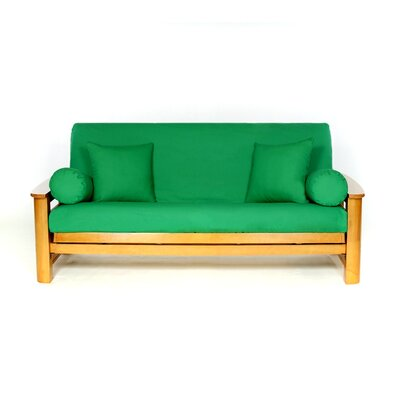 Box Cushion Futon Slipcover Upholstery: Kilarney