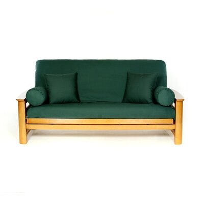 Futon Slipcover Upholstery: Hunter
