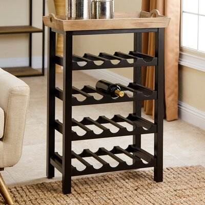 Eberhart 20 Bottle Floor Wine Rack