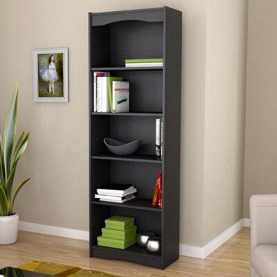 Red Barrel Studio Hopwood Standard Bookcase Finish: Black