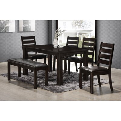 Stag's Leap 6 Piece Dining Set