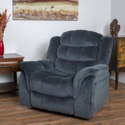 Texian Glider Recliner Upholstery: Steel