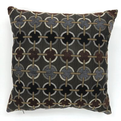 Contrary Circular Print Throw Pillow Size: Large