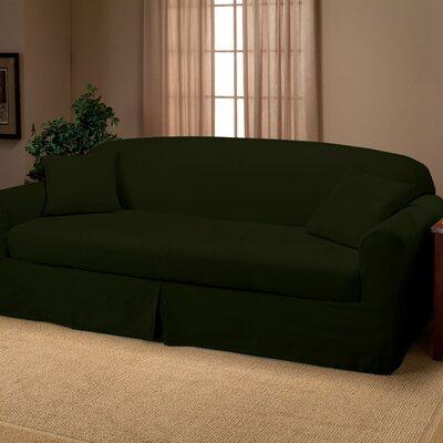 Goliath Sofa Slipcover Upholstery: Forest