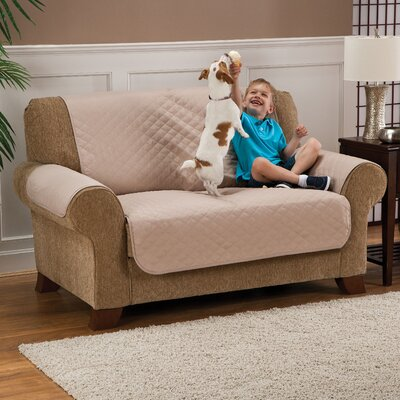 Loveseat Pet Slipcover Color: Brown