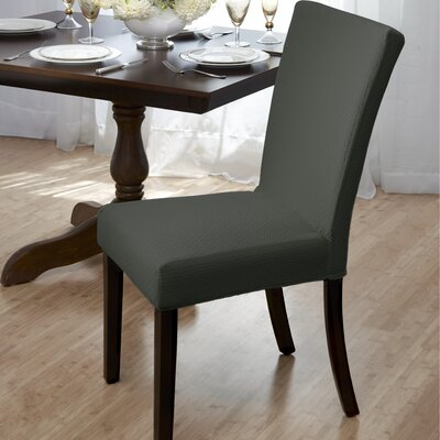 Dining Room Chair Slipcover Upholstery: Hunter