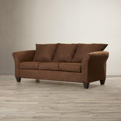 Milepost Serta Upholstery Hanover Sofa Upholstery: Sienna Chocolate