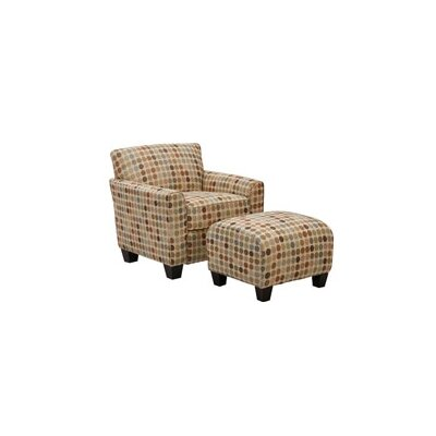 Great Northern Armchair and Ottoman Upholstery: Retro Egg