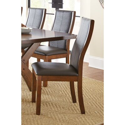 Burkes Side Chair (Set of 2) Finish: Warm Oak