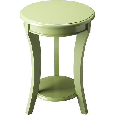 Twiggs End Table Color: Green