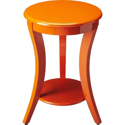 Twiggs End Table Color: Orange
