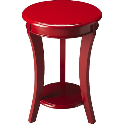 Twiggs End Table Color: Red