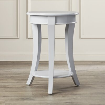 Twiggs End Table Color: Grey