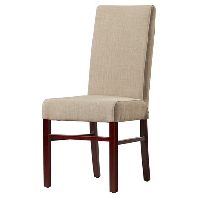Remick Parsons Chair Finish: True Taupe