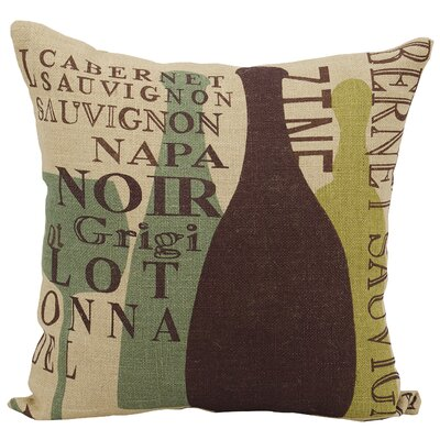 East Haddam Jute Throw Pillow