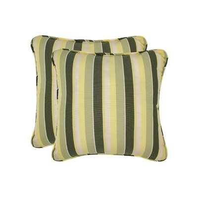 Mully Stripe Toss Outdoor Throw Pillow