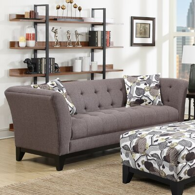Sierra Blanca Chesterfield Sofa Upholstery: Tobacco