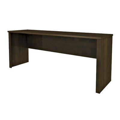 Bormann 30.4 H x 71.1 W Desk Hutch Finish: Chocolate