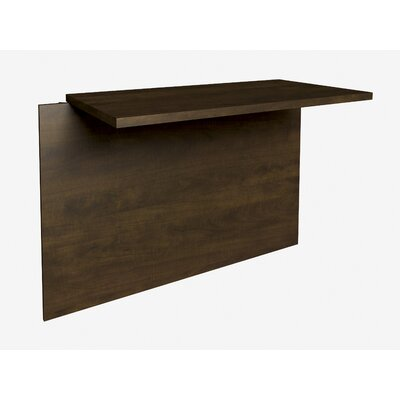 Bormann 30.4 H x 39.4 W Desk Bridge Finish: Chocolate