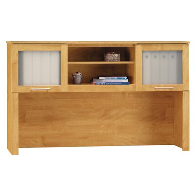 Chase 36.63 H x 59.13 W Desk Hutch Finish: Maple Cross