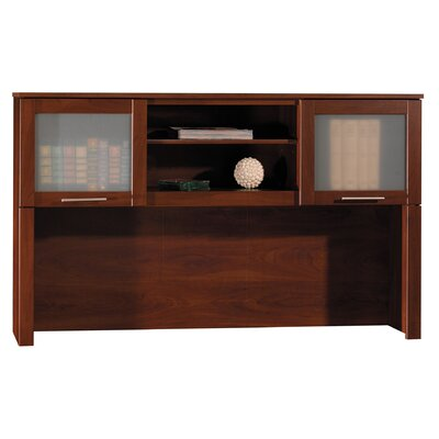 Chase 36.63 H x 59.13 W Desk Hutch Finish: Hansen Cherry