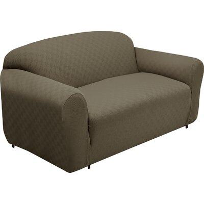 Loveseat Slipcover Upholstery: Sage