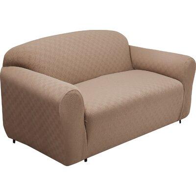 Baltimore-Washington Loveseat Slipcover Upholstery: Wheat
