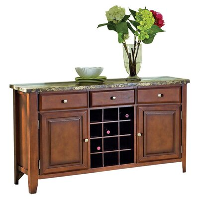Valholl Sideboard and Wine Rack