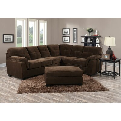 Clear Creek Sectional Upholstery: Mocha Brown