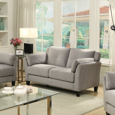 Red Barrel Studio RDBS1735 27711267 Chandeleur Contemporary Tufted Loveseat Upholstery