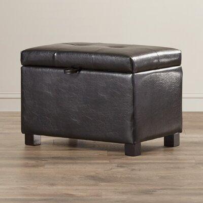 Grissom Leather Storage Ottoman