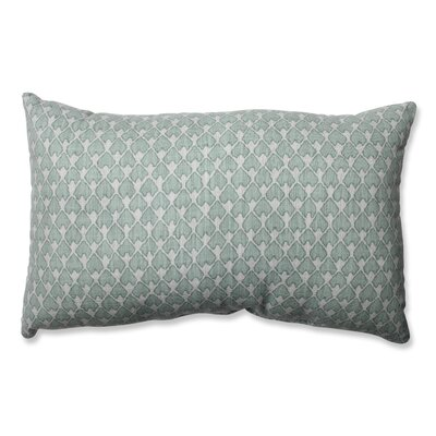 Covered Bridge Cotton Lumbar Pillow Color: Seagrass