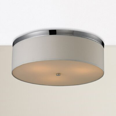 Bettencourt 3-Light Flush Mount