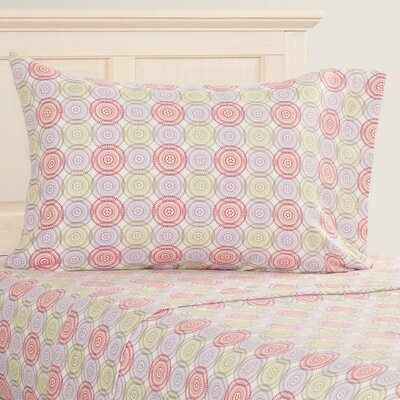 Dogfish Heavy Weight Printed Flannel Sheet Set Size: Twin