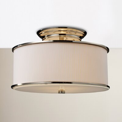 Governors 2-Light Semi Flush Mount