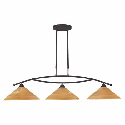 Hagins 3-Light Kitchen Island Pendant