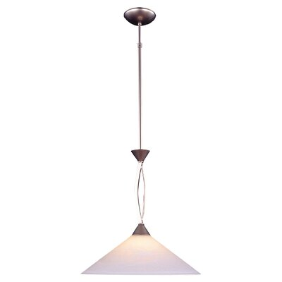 Beecroft 1-Light LED Mini Pendant Finish: Satin Nickel