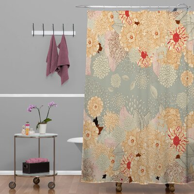 Big Island Kibbe Creme De La Creme Shower Curtain