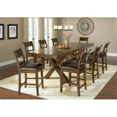 Fernson 9 Piece Counter Height Dining Set