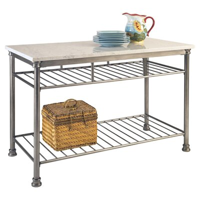 Kibbe Prep Table with Quartz Top