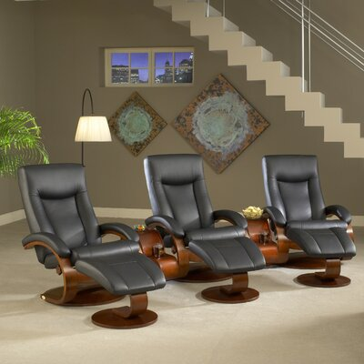 Flathead Lake Home Theater Group Seating (Row of 3)