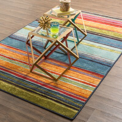 Bartlett Las Cazuela Multi-color Area Rug Rug Size: 2 x 5
