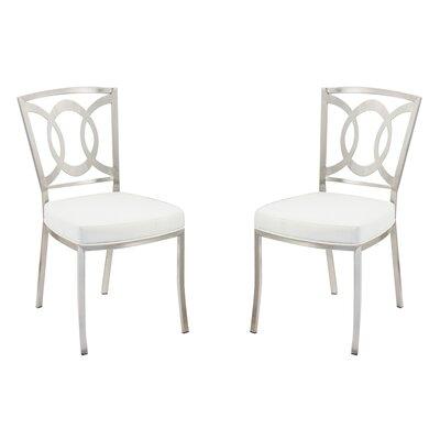 Chuckanut Side Chair Upholstery: White