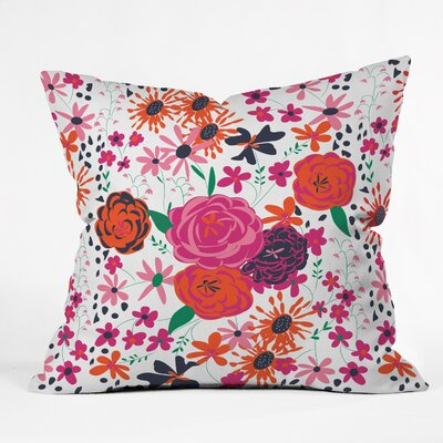 Bloomimg Love Indoor/outdoor Throw Pillow Size: Small