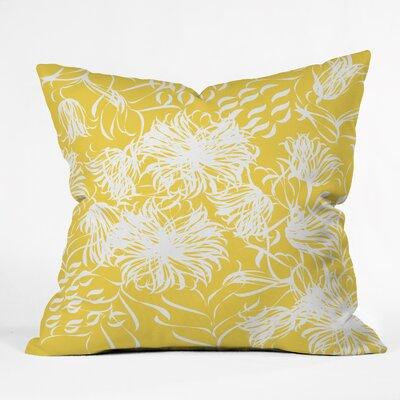 Bright Breezy Indoor/outdoor Throw Pillow Size: Large