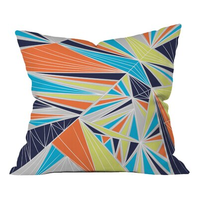 Tech It Out Retro Indoor/outdoor Throw Pillow Size: 18 H x 18 W