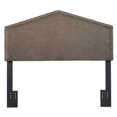 Upholstered Arch Panel Headboard Size: Full/Queen